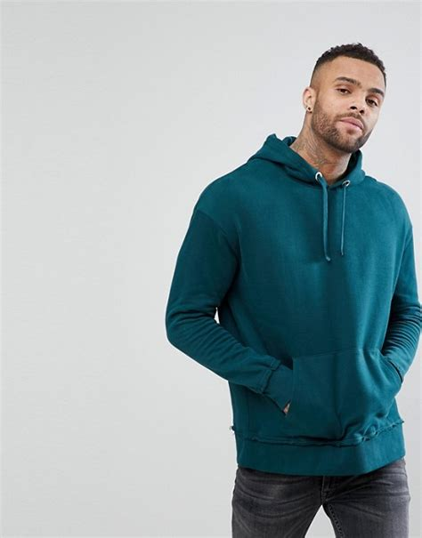 River Island | River Island Hoodie In Forest Green
