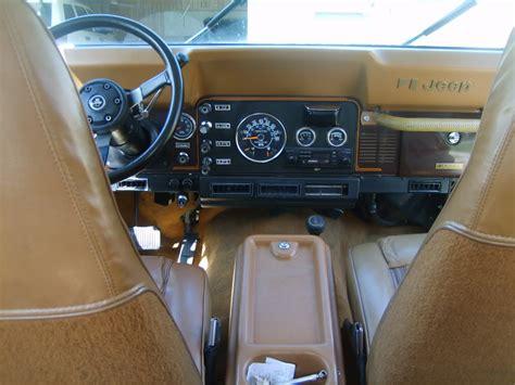 jeep hardtop interior jeep cj7 interior image 56