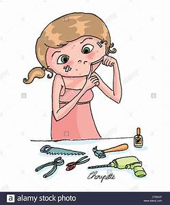 Acne  Drawing Stock Photo  49314735