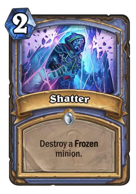 shatter hearthstone card