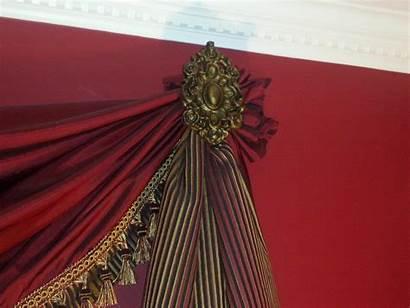Drapery Medallions Medallion Decorative Curtains Iron Wall