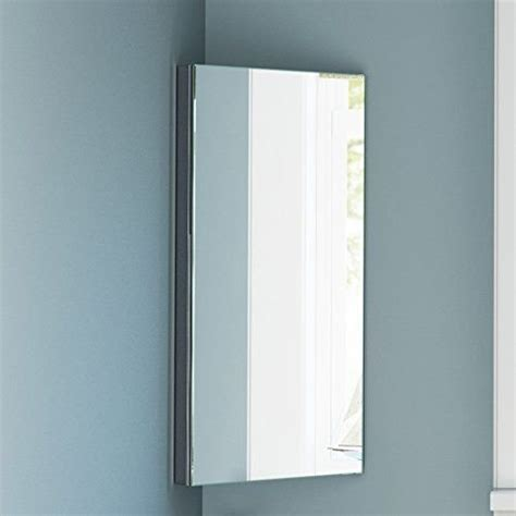 Mirrored Corner Bathroom Cabinet by Stainless Steel Bathroom Corner Cabinet Home Treats Uk