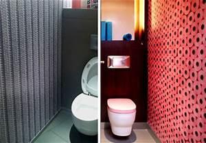 Papier Peint Pour Wc : une d co des wc qui en jette c t maison ~ Nature-et-papiers.com Idées de Décoration