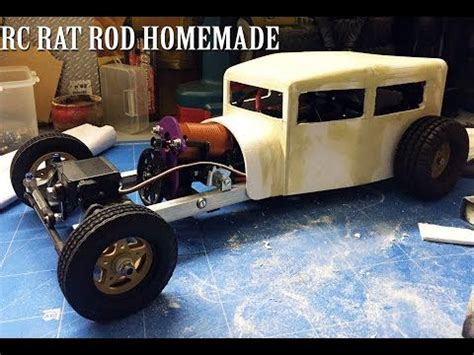 homemade truck body rc car rat rod rwd homemade 1 10 part 1 5 chassis