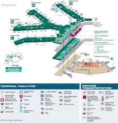 O'Hare Airport Map