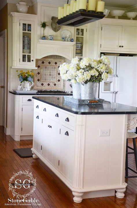 farmhouse style kitchen islands stonegable 10 elements of a farmhouse kitchen