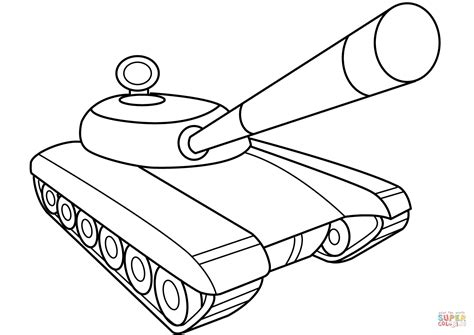 Kleurplaat Oorlog Tank by Army Tank Coloring Page Free Printable Coloring Pages