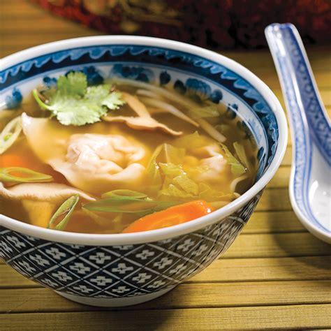 cuisine gingembre soupe wonton porc et gingembre recettes cuisine et