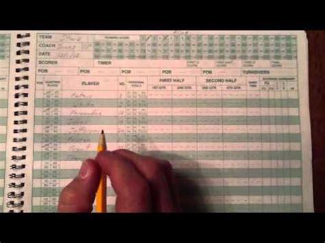 score   clbl scorebook youtube