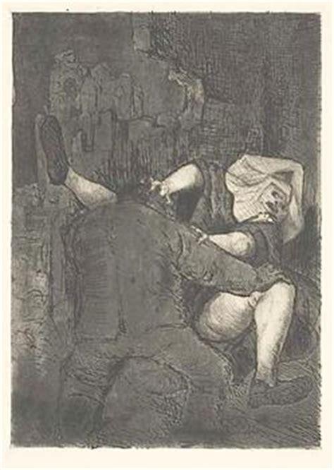 dix otto etching aquatint  soldat und nonne