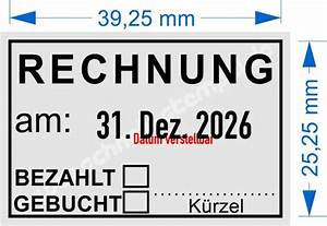 Radio Bezahlt Rechnung : stempel rechnung bezahlt gebucht trodat professional schnell automotive e k ~ Themetempest.com Abrechnung