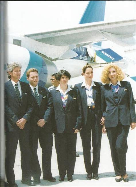 el al flight attendants   beautiful