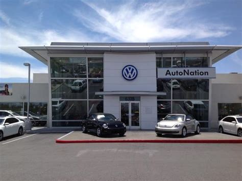 Dealership Las Vegas by Autonation Volkswagen Las Vegas Las Vegas Nv 89146 Car