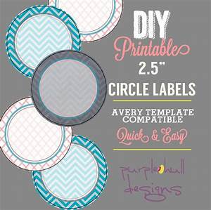Circle label sticker avery template 25 inch round chevron for Avery 2 5 circle labels