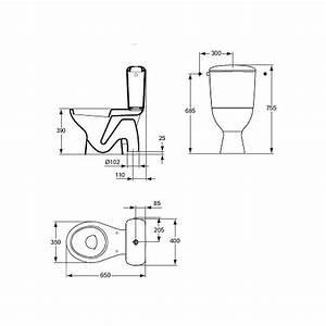 Wc Sortie Vertical : pack wc sortie verticale ulysse blanc p940401 plomberie ~ Premium-room.com Idées de Décoration
