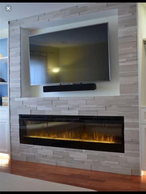 pin  mark royle  tv wall   basement fireplace