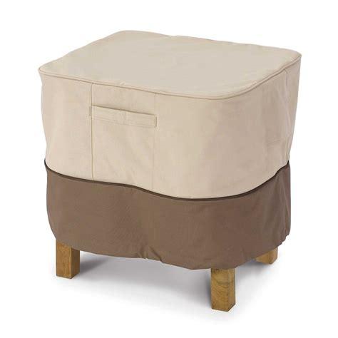 veranda outdoor rectangular table or ottoman cover the