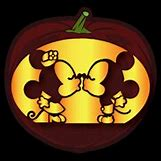 Mickey And Minnie Pumpkin Carving Patterns | 200 x 200 png 29kB
