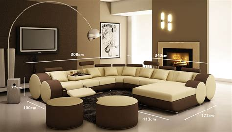 chambres deco emejing salon moderne marron beige photos amazing house