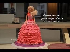 Faire Un Gateau D Anniversaire : comment faire un gateau princesse part 1 youtube ~ Carolinahurricanesstore.com Idées de Décoration