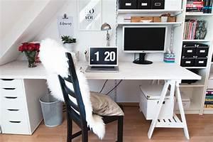Schreibtisch Kinderzimmer Ikea : diy unser neuer schreibtisch kleidermaedchen fashion blog from germany deutscher modeblog ~ Markanthonyermac.com Haus und Dekorationen