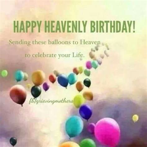 Happy Birthday In Heaven Images Clip Of Anniveraries Of In Heaven
