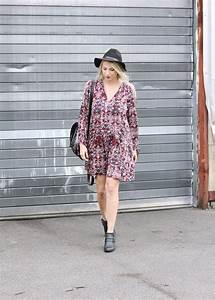 Ankle Boots Zum Kleid : outfit bohemian look mit westernboots lavie deboite ~ Frokenaadalensverden.com Haus und Dekorationen