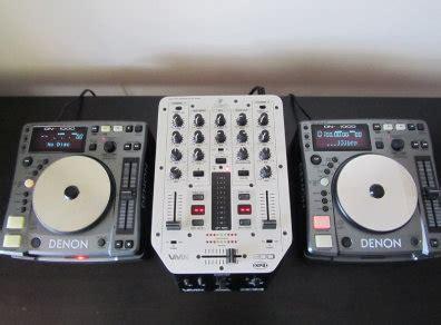 Dj Cd Decks Mixer Denon Dn S1000 Behringer Vmx200 For Sale