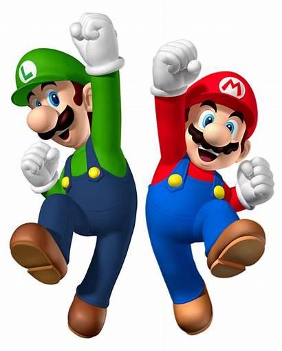 Luigi Mario Bros Transparent Clipart Render Superstar