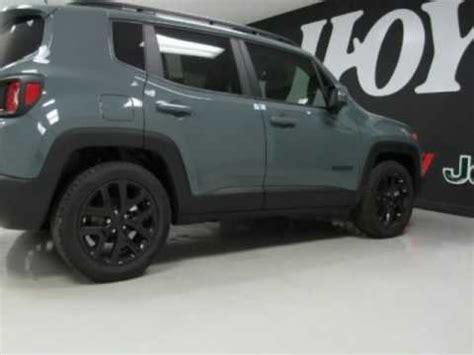 anvil jeep renegade sport 2017 jeep renegade latitude new anvil gray suv for sale