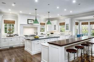 kitchen island with table attached 41 luxury u shaped kitchen designs layouts photos