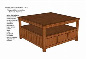 PDF DIY Easy To Make Coffee Table Plans Download drop down
