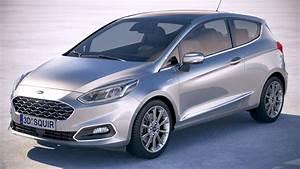Ford Fiesta Vignale : fiesta vignale 3 door 3d turbosquid 1224318 ~ Melissatoandfro.com Idées de Décoration