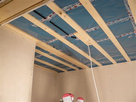 Bautagebuch Fronhoven » Decke Abstellraum (ohne Rigips