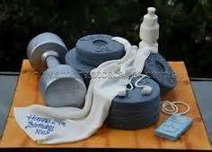 ideas  gym cake  pinterest crossfit cake