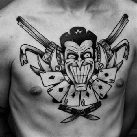 Joker Tattoo Das Farb Wahnsinn » Tattoosideencom