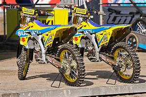 Can You Spot The Differences  Suzuki Rm-z250