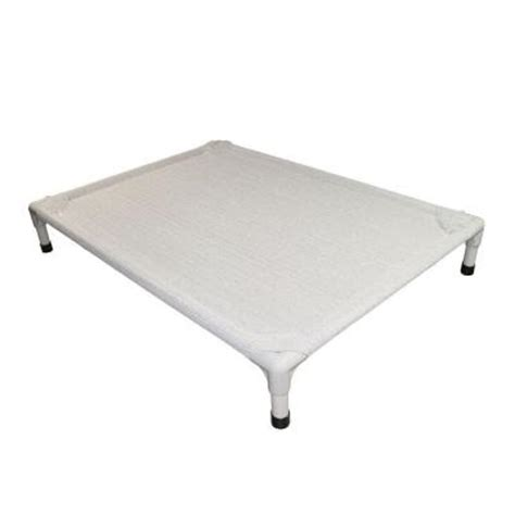 Coolaroo Beds by Coolaroo Small Aluminum Frame Grey Pet Bed 433055 The