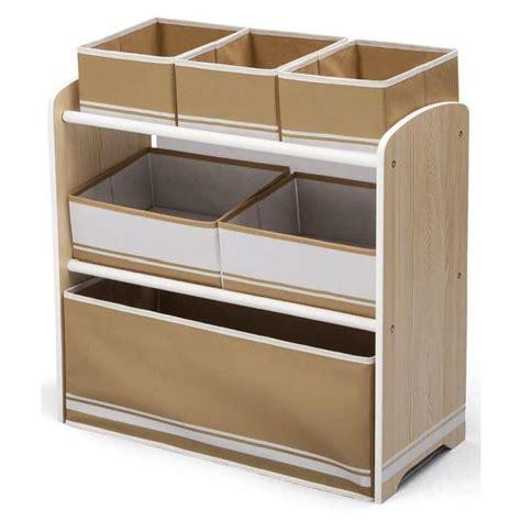 meuble de rangement pour chambre delta meuble de rangement enfant jouets 6 bacs en bois