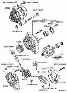 Toyota Corollaee97r-awkrs - Tool-engine-fuel