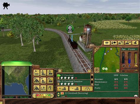 Railroad Tycoon 3  Pc Arena80