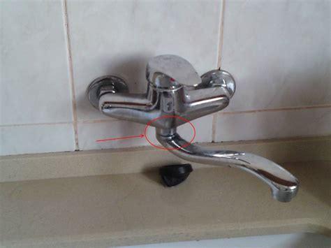 fuite robinet cuisine robinet et fuite
