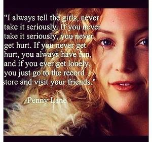 The wise words of penny lane . #quotes | Quotes ...