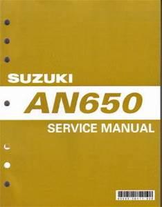 An650 Burgman Service Manual