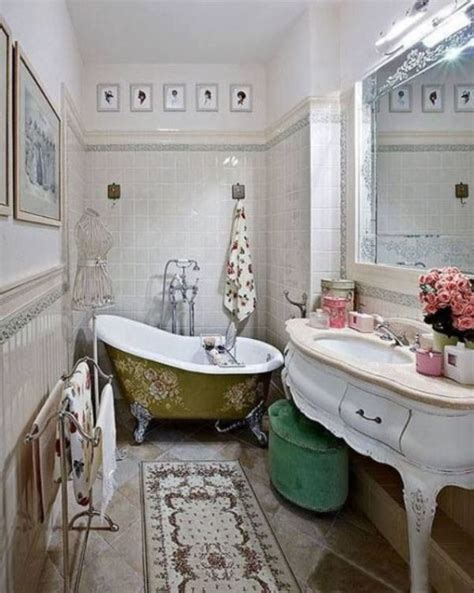 vintage bathroom design keeping  classic dig  design