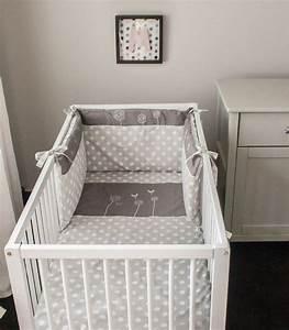 Bettwäsche Für Babybett : nestchen nestchen f r ein babybett ein designerst ck ~ Watch28wear.com Haus und Dekorationen