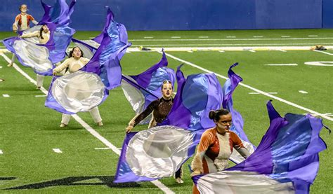 what is a color guard color guard bowie band