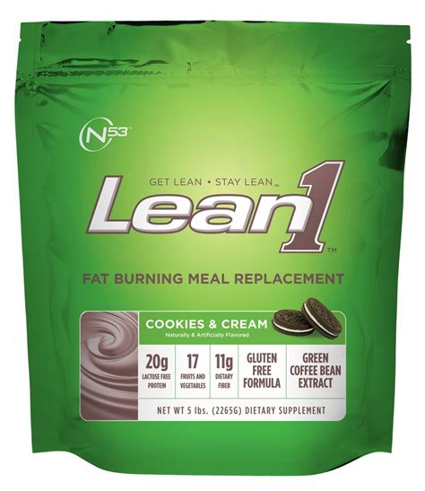 Amazon.com: Lean 1 (Vanilla, 43 Servings): Fat-Burning