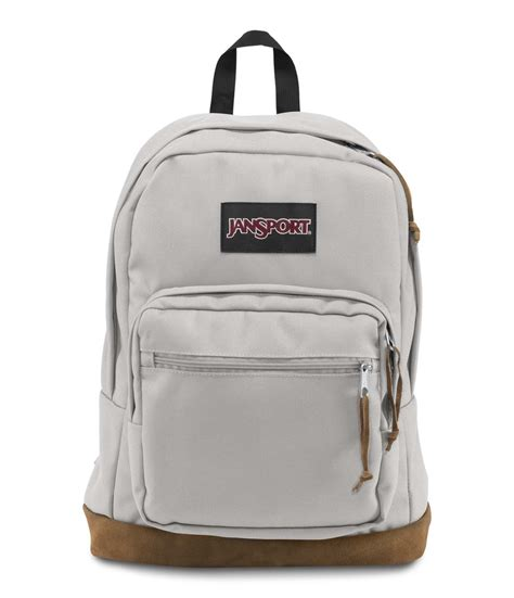 light gray jansport backpack jansport right pack backpack grey rabbit fantasyard