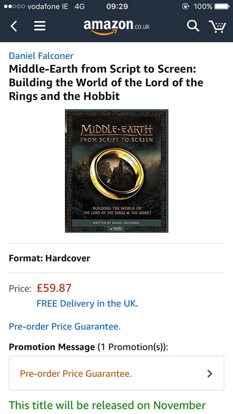 0007544103 middle earth from script to screen middle earth from script to screen building the world of